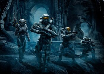 Blue team halo 5