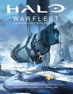 Halo Warfleet new cover