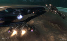 HaloReach - Space Battle