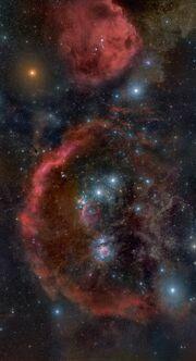 Complesso Nebuloso di Orione