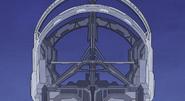 Keyship pedestal