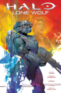 Halo Lone Wolf Issue 1 cover