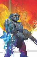 Halo Lone Wolf Issue 1 cover art