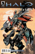 Halo Initiation 1 Terry Dodson Rachael Dodson variant cover