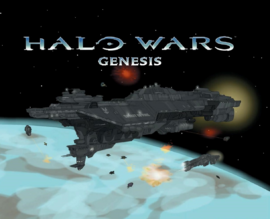 Halo Wars Genesis Cover