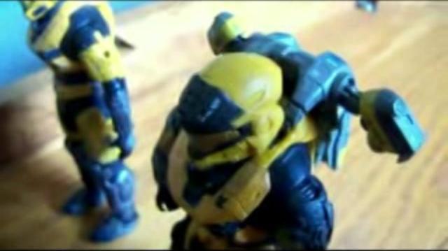 Halo Reach action figure adventures episode 41 Football