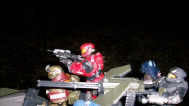 Halo Reach action figure adventures episode 4 Three of a Kind