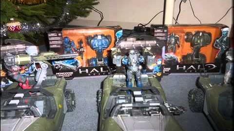 Halo Reach action figure adventures Short 5 A Very Merry Christmas
