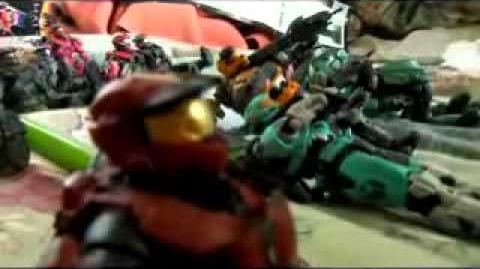 Halo Reach action figure adventures 32 Rage of the Titans
