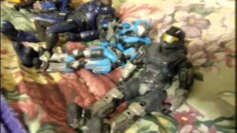 Halo Reach action figure adventures episode 14 Last Quarter Luna Exploration