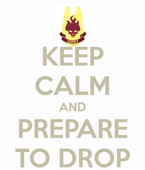 PrepareToDrop