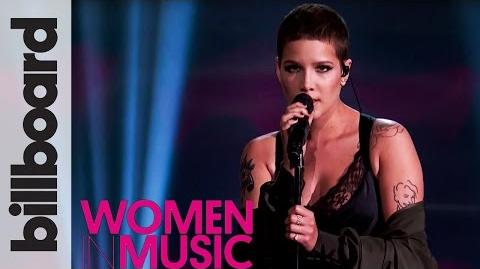 Halsey 'Colors' Live Performance - Billboard Women in Music 2016