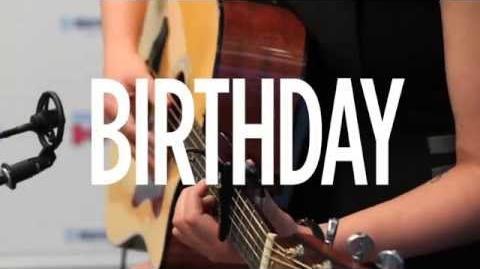 "Halsey ""Birthday"" Katy Perry Cover Live @ SiriusXM Hits 1"