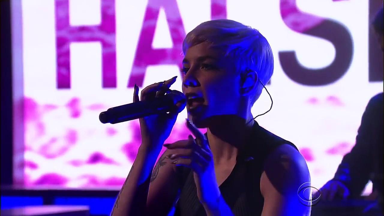 Halsey Performs New Americana