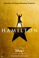Hamilton - Disney+ poster - Aaron Burr