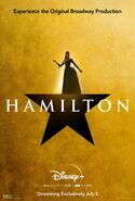 Hamilton - Disney+ poster - Eliza Hamilton