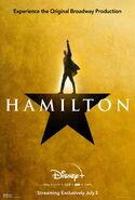 Hamilton - Disney+ poster - Alexander Hamilton