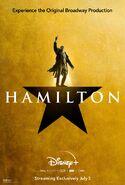 Hamilton - Disney+ poster - Hercules Mulligan