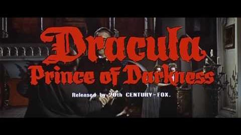 Dracula Prince of Darkness (1966) Trailer