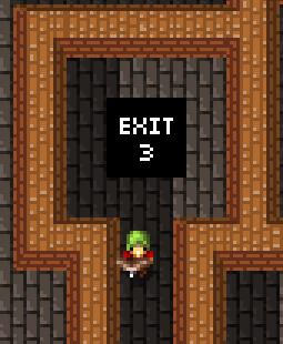 Gauntlet exit