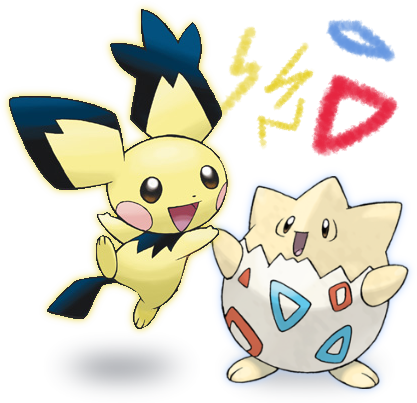 Pok 233 Mon Let S Go Pichu And Togepi Hammy Games Inc Wiki