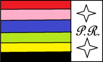 Bandera Power Rangers