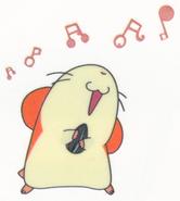 Hamtaro-stickerbook-panini-hamtaro-singing