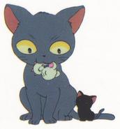 Hamtaro-stickerbook-panini-cat
