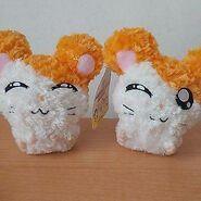 Hamutaro Plush Doll Set Of 2