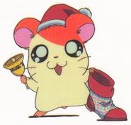 Hamtaro-stickerbook-panini-hamtaro-xmas