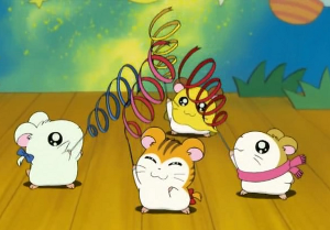Image result for hamtaro dancing