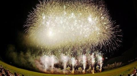 4K Ultra HD Matsudo Fireworks 松戸花火大会 Finale ( Shot on RED EPIC DRAGON )