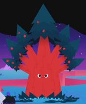 Red treasure tree