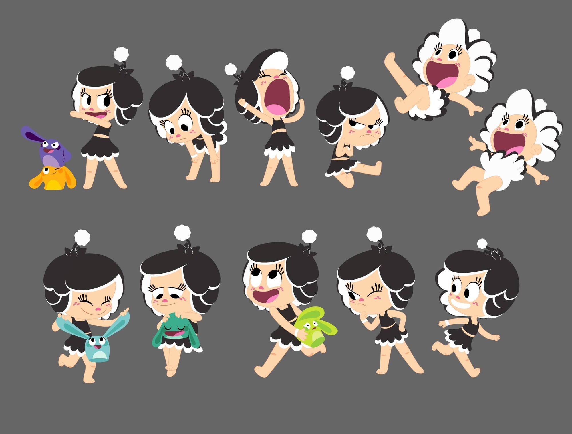 Hide And Seek Recovery >> Image - Hanazuki Poses Sheet.jpg | Hanazuki Full of