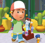 Handy manny and tools