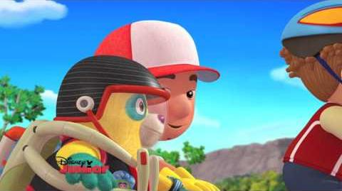 Handy Manny and Special Agent OSO - The Manny with the Golden Bear