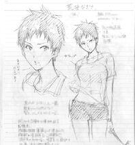 Nagisa Concept Art 4