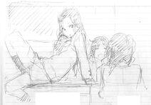 Ayano, Erena, Noriko Concept Art 2