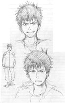 Kentarou Concept Art 3