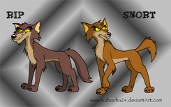 The Coyote Bros Concept Art by Kabocha24