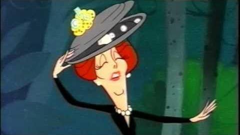 Hedda Hopper, the Mad Hatter - Hanna Barbera's Alice in Wonderland 1966