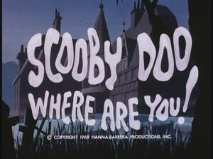 Hb scooby doo where are you title card