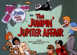 The Jumpin' Jupiter Affair Title Card