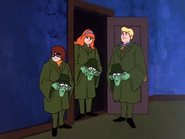 Velma. Daphne and Fred Unmasked