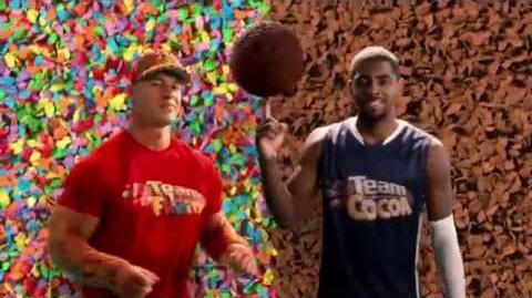 Pebbles Cereal Team Cocoa vs. Team Fruity Commercial American Movie Company Green Screen Studio