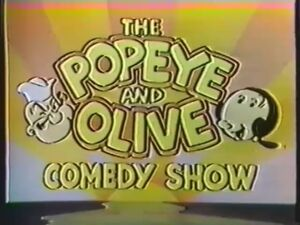 The Popeye And Olive Comedy Show 1981 CBS Cartoon Intro