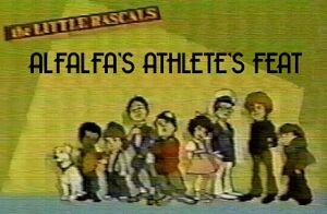 Alfalfa's Athletes Feat