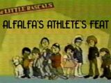 Alfalfa's Athlete's Feat