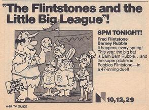 The Flintstones- Little Big League