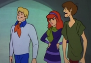 Fred,Daphne and Shaggy